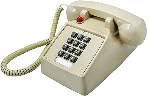 Xkun Tallado Vintage fijo teléfono fijo casa