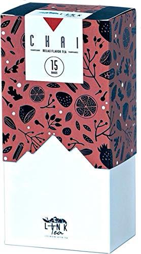 【linktea】マサラチャイ ティーバッグ15包×1袋 計15包