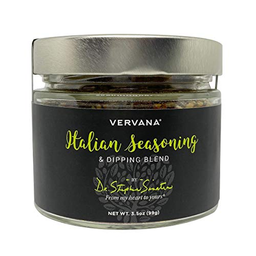 Vervana All-Purpose, All-Natural Italian Seasoning and Spice Blend for Bread Dipping with Olive Oil – 3.5 oz (99 g)