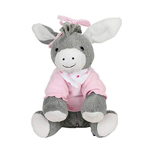 Sterntaler 6351838 Chilling Box Emmi Girl (DE 34407560), Digitale Spieluhr, Inkl. Bluetooth-Lautsprecher und USB-Kabel, Alter: Babys ab der Geburt, 20x20x8 cm, Rosa