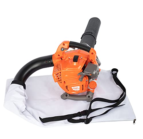 PROYAMA 3-in-1 25cc 2-Cycle Gas Powered Handheld Leaf Blower Vacuum Mulcher Shredder for Lawn Care, Leaves , Snow Blowing, Dust, Yard Clearing 200MPH 330CFM