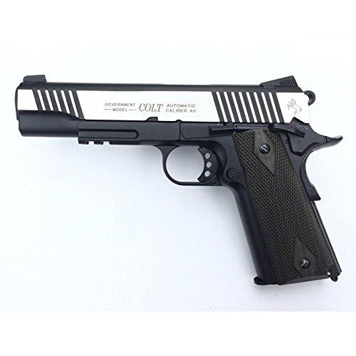 Cybergun Colt 1911Schiene Gun 2Farbtöne CO2Nachbildung Leistung 0,5Joules