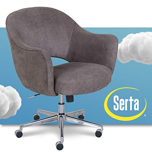Serta Valetta Upholstered Home Office Desk Modern Swivel Accent Chair Memory Foam Seating Gray Buy Online In Burundi Serta Products In Burundi See Prices Reviews And Free Delivery Over 128 000 Fbu Desertcart