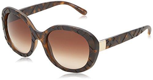 Burberry BE4202Q gafas de sol, Marrón (Dark Havana 35385W), Talla única (Talla del fabricante: One size) para Hombre