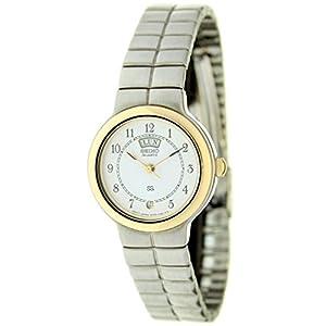 Seiko Syd116 Reloj Analogico para Mujer Caja De Acero Inoxidable Esfera