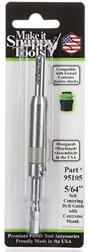 Snappy Tools selbstzentrierender Scharnier-Bit, 1,6 cm, passend für Festool Centrotec Chucks #95105