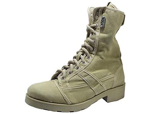OXS Frank 1040 Mid Boot W Fabric Taupe Stiefel für Damen, Beige - Taupe - Größe: 36 EU