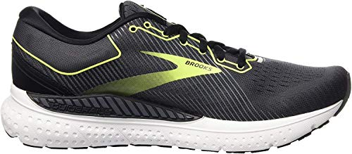 Brooks Herren Transcend 7 Laufschuhe, Schwarz (Black/Ebony/Nightlife), 44 EU