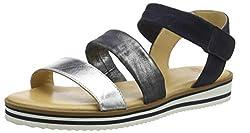 ARA women's Durban strappy sandals