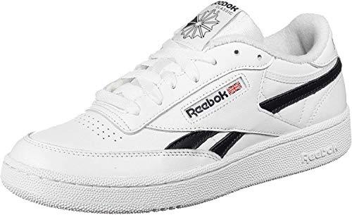 Reebok Herren Sneaker Revenge Plus MU Sneakers, White Black, 45 EU