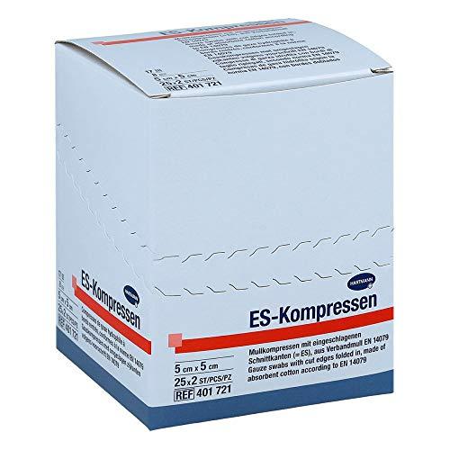 ES-KOMPRESSEN steril 5x5 cm 8fach 25X2 St