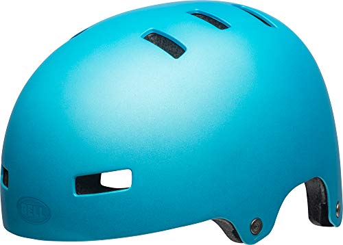 Bell Unisex Jugend Span Fahrradhelm, mat Bright Blue, S