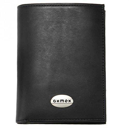 oxmox Leather Kombibörse 9,5 cm Black