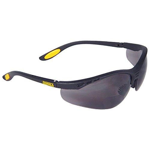 DeWalt DPG59-220D - Gafas de seguridad reforzadas Rx - Lente ahumada 2.0 (1 par)