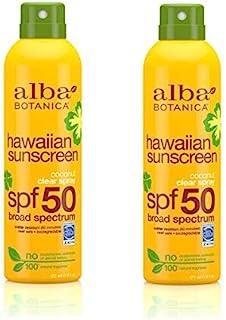 Alba Botanica 2 Pack of Hawaiian Sunscreen, 6 oz