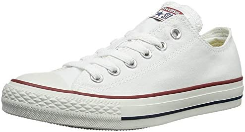 Converse - Zapatillas de tela para niños, color Blanco, talla 22 EU (6 UK)