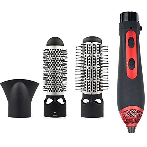 4 in 1 Curling Hot Air Comb, Multi-functie Electric Hair Curler, Straight Roll Curling stok haardroger, geschikt voor korte halflang hick haren