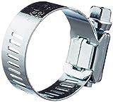 Bulk Hardware BH03447 Fascette Stringitubo per Flessibili con Vite di Serraggio, Bianco, Set di 2 Pezzi