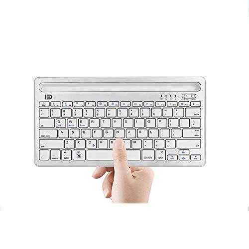 YAS Eking Teclado Bluetooth inalámbrico de la Tableta del teléfono móvil Universal Mini Teclado de Carga portátil
