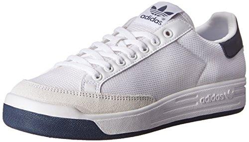 adidas mens Rod Laver-m Sneaker, White/Collegiate Navy, 13.5 US
