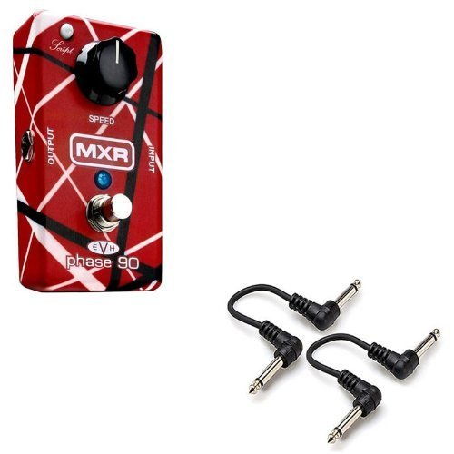 MXR EVH 90 Eddie Van Halen Phase 90 Guitar Effect Pedal with 2 FREE 6