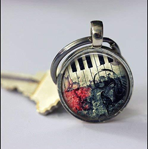 Schlüsselanhänger mit Musikinstr...