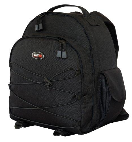 GEM Kameratasche/Rucksack mit wasserfester Abdeckung für Nikon D610, D5300, und 3-5 Objektive