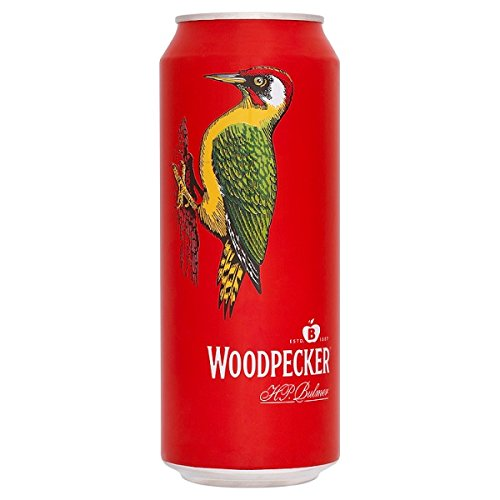 Woodpecker Cider 500ml Can (Pack of 24 x 500ml)