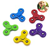 YOLOPLUS+ 5 Pieces Mini Size Fidget Spinner Toys for Children Kids Girls Boys Hand Spinner Best Toys Fit The Small Hand Birthday Party Favor Kindergarten(XS Size 2 Inch)