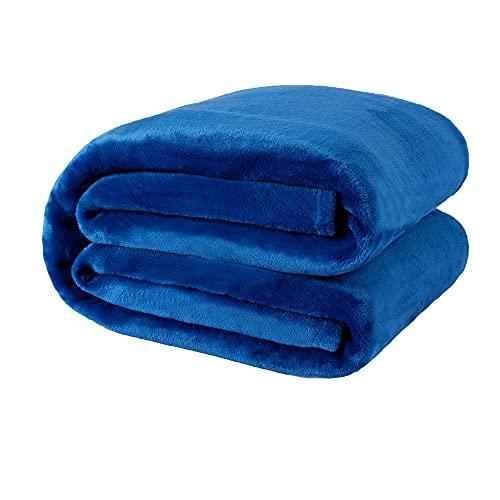 NANPIPER Fleece Blankets, Super Soft Flannel Queen Size Blanket for...
