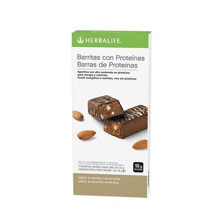 Herbalife Protein Bars - Vanilla Almond (14 bars per box)