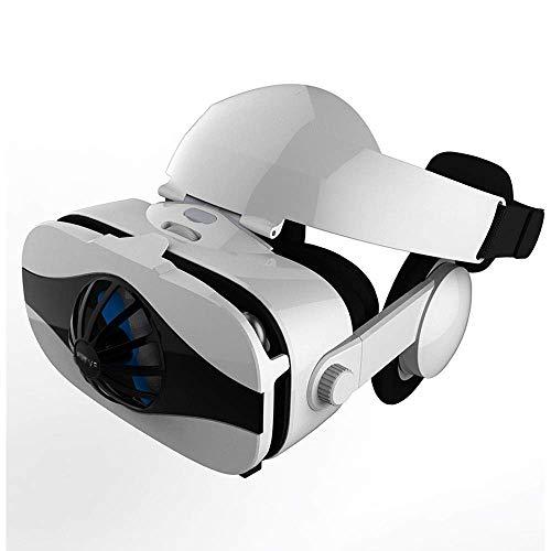 VR-Headset für iPhone- und Android-Telefone - Virtual Reality-Goggles | Komfortable & einstellbare VR-Glasse | Spielen Sie Ihre besten mobilen 3D