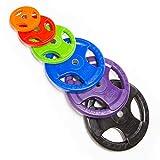 2Stück : Hantelscheiben (gummiert) ab 2,5kg bis 20kg / die Bohrung beträgt 30/31mm - die Gewichte...