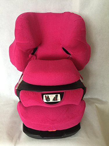 Sommerbezug Schonbezug für Cybex Pallas und Pallas 2-Fix Frottee 100% Baumwolle pink