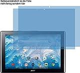 4ProTec I 2X ANTIREFLEX matt Schutzfolie für Acer Iconia One 10 B3-A40 Bildschirmschutzfolie Displayschutzfolie Schutzhülle Bildschirmschutz Bildschirmfolie Folie