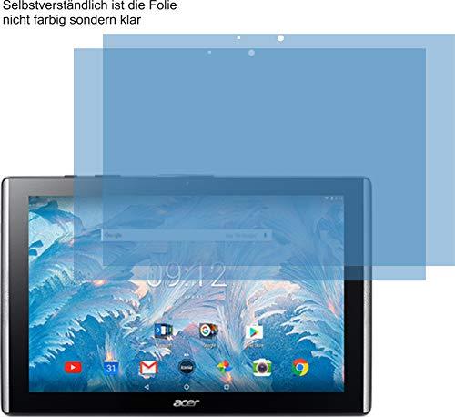 4ProTec I 2X Crystal Clear klar Schutzfolie für Acer Iconia One 10 B3-A40 Bildschirmschutzfolie Displayschutzfolie Schutzhülle Bildschirmschutz Bildschirmfolie Folie