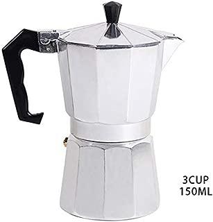 IronFizz897 Coffee Pots Aluminium Stove-Top Moka Pot Coffee Maker Italian Expresso Maker