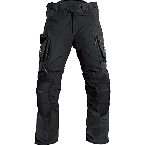 Pharao Motorradhose Reise Leder-/Textilhose 1.0 schwarz M, Herren, Enduro/Reiseenduro, Ganzjährig