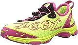 Zoot Women's W Ultra 7.0 Running Shoe,Safety Yellow/Beet/Black,8 M US
