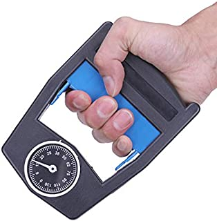 UK Hand Grips Increase Strength Finger Pitch Digital Arm Exercise Dynamometer
