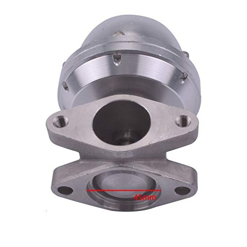 U/D HKRSTSXJ 35mm 3.6Psi High Performance Wastegate Turbo External Pressure with Clamp Flange Universal for Turbo Manifold