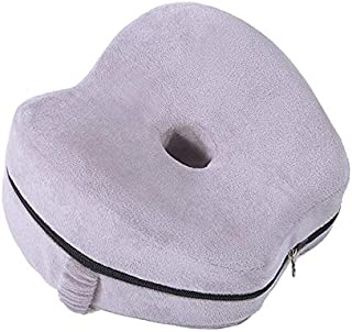 AQHXLS Memory Foam Pillows, Ergonomic Pregnant Women Pillows, Knee Support Cushions, for Men and Women's Sleep (Color : Gray)