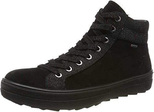 Legero Damen Mira Gore-Tex Hohe Sneaker, Schwarz (Schwarz (Schwarz) 00), 38 EU
