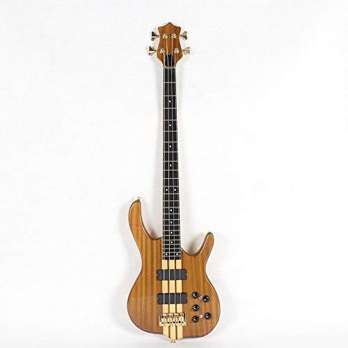 MLKJSYBA Guitarra Cuerdas Eléctricas De Cuatro Cuerdas Guitarra Acústica De Acero Acústico...