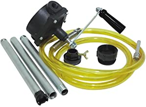 JohnDow Fuel Chief JDI-RP12-KIT Universal Two-Way Rotary Pump Kit With 10-Foot Hose
