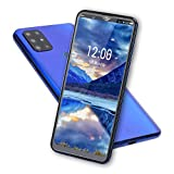 S20 Unlocked Smartphone, Cell Phone with Dual SIM Card Slot, 4 Core Cell Phone, 6.7' HD Screen, 128G Memory Card, 8MP + 13MP Cameras, Android Mobile Phone(Blue)