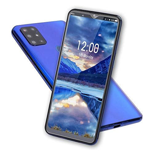 8+128G Dual Sim Fingerprint Unlocked Cell Phones Built-in 5000mAh Battery for Android 10.0 Bronze S21 Unlocked Smartphone 1 7.2in HD Screen Mobile Phone