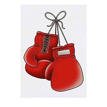 Azeeda Large  Boxing Gloves  Temporary Tattoo  TO00031415