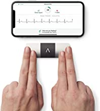 AliveCor KardiaMobile 6L | FDA-Cleared | Wireless 6-Lead EKG | Works with Smartphone | Detects AFib or Normal Heart Rhythm in 30 Seconds