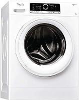 whirlpool fscr80410, lavatrice a carica frontale a libera installazione, a+++-50%, 8kg, 1400 giri/min